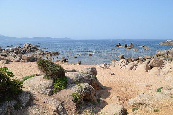 Photo des criques d'Isolella dans le golfe d'Ajaccio