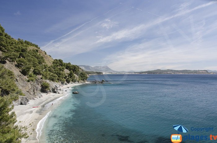 Jonquet Cove, one of the most beautiful coves of the south of France