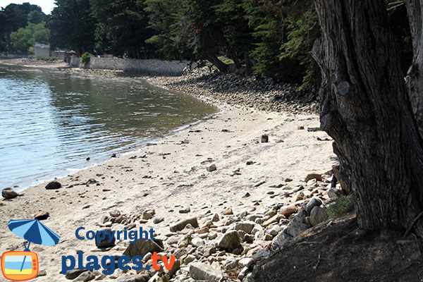 Crique de Kernoel sur l'ile d'Arz