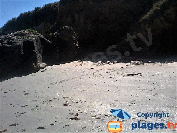Kost ar Mélite cove at low tide - Ile de Groix