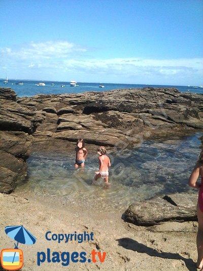 Piscine naturelle sur l'ile de Groix