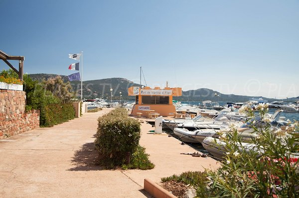 Port of the Marina di Fiori in Porto-Vecchio