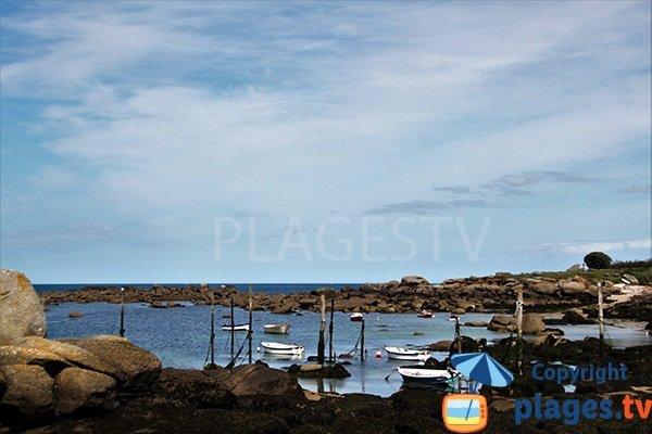 Port de Mazou à Porspoder - Bretagne