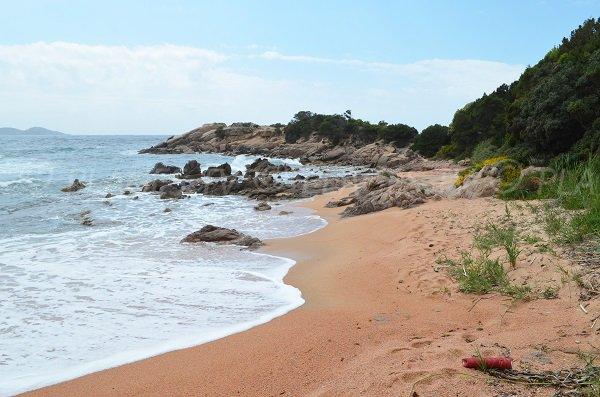 Foto della cala Oblades a Isolella - Pietrosella