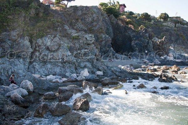Photo des criques au Cap d'Ona de Banyuls sur Mer 66