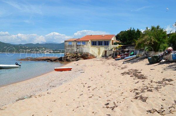 Photo de la plage d'Orcino en Corse (Calcatoggio)