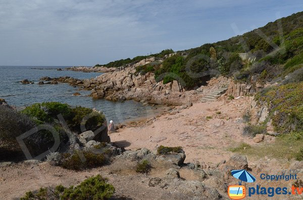 Crique of the West point of Isolella - Corsica