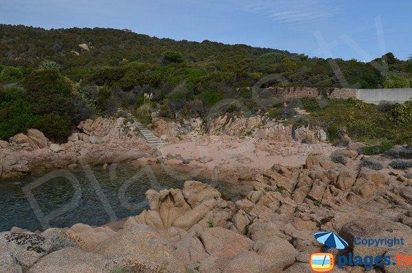 Isolella cove - West - Corsica