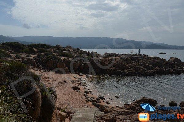 Confidential cove in Isolella - Corsica