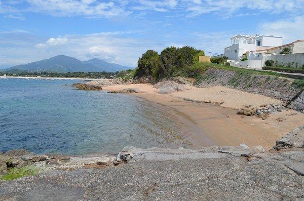 Crique Paradisu à Porticcio en Corse