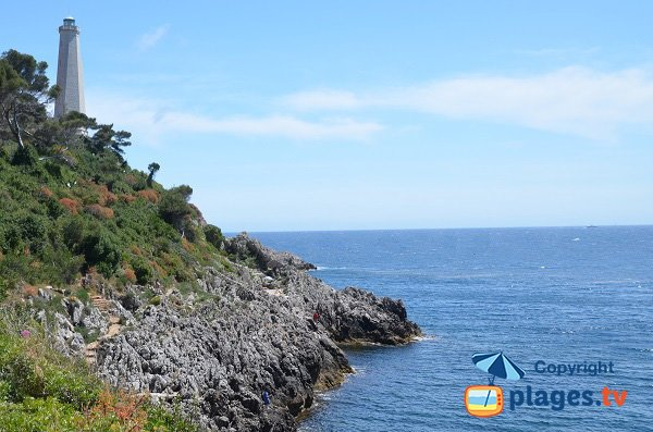 Photo of Lighthouse beach in St Jean Cap Ferrat - France