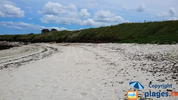 Dunes de la plage de Pors ar Goret à Lampaul-Plouarzel