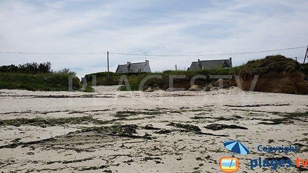 Accès à la plage de Pors ar Goret à Lampaul-Plouarzel