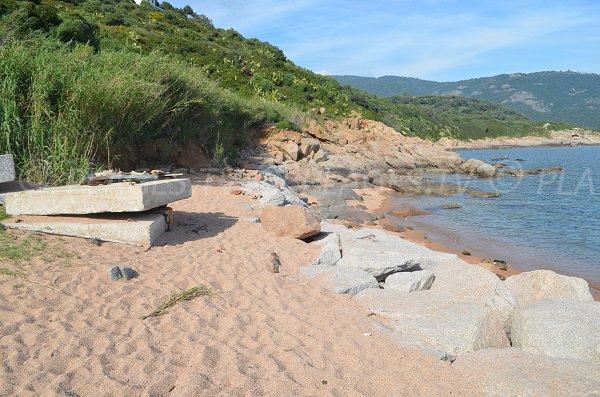 Cove in Cargèse