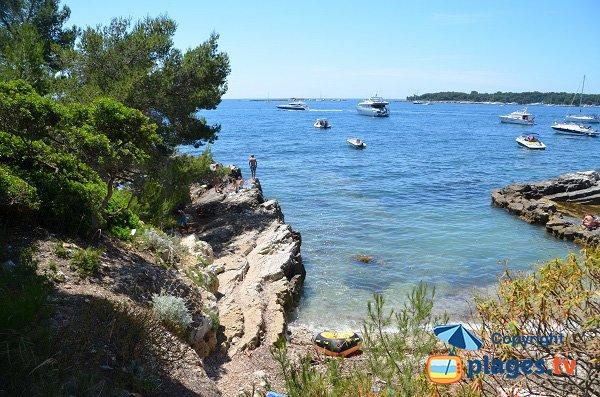 Portet beach - Ste Marguerite - Lérins