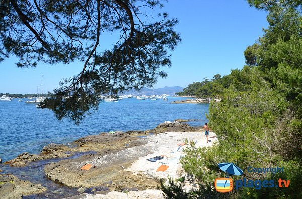 Photo of Portet cove - Lerins island