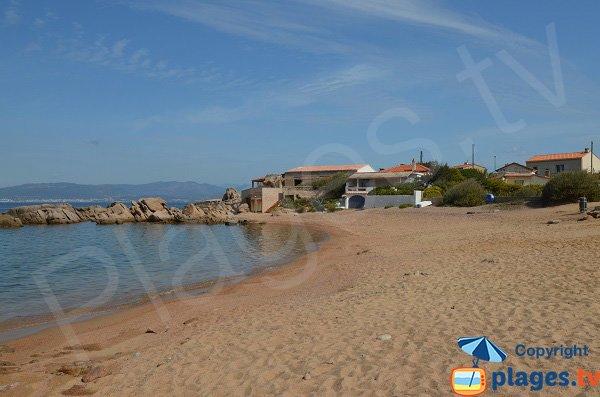 Dentis beach in Isolella - Corsica