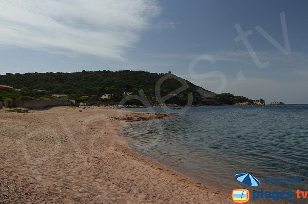 Photo of Poufy beach in Isolella - Corsica
