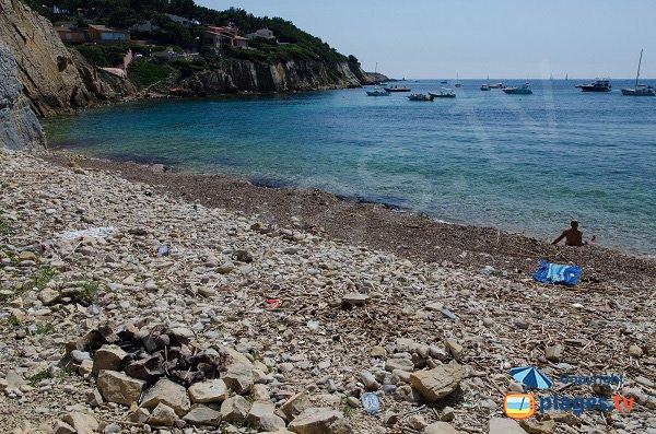 Crique secrète à Sanary sur Mer