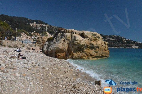 Petite crique à Roquebrune Cap Martin
