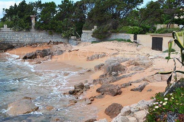 Ghiatone cove in Corsica (Pietrosella)