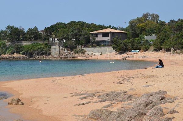 Cove next to Ruppione beach - Corsica