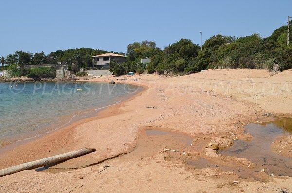 Spiaggia di sabbia di rugiada Pietrosella - Corsica del Sud