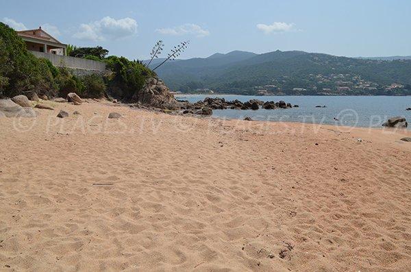 Cala vicino alla spiaggia Ruppione - Corsica