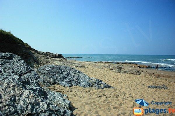 Rocks on Sauzaie cove - Brétignolles-sur-Mer