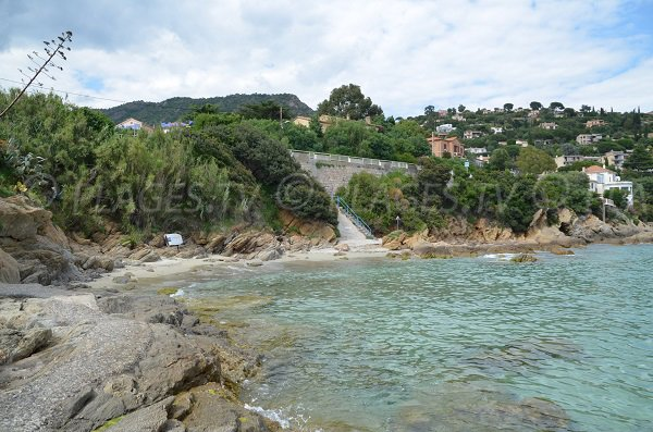 Saint Clair creek in the Lavandou in France