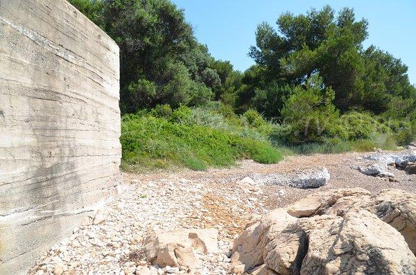 Bunker au niveau de la pointe de Saint Féréol