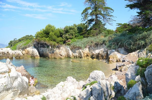 Photo of St Pierre cove - Lérins island - St Honorat