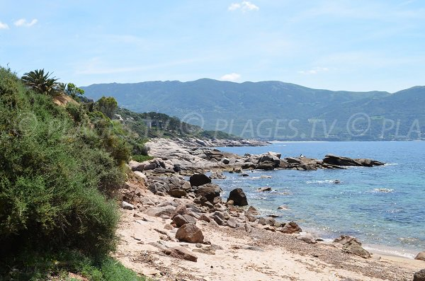 Littoral de Casaglione en Corse