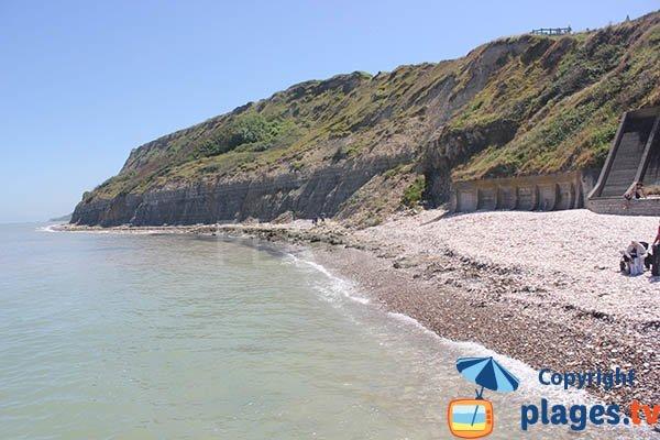 Cove of Port en Bessin in Normandy