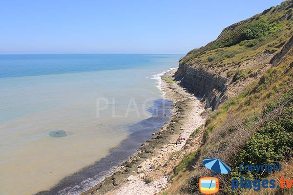 Photo of the cove of Port en Bessin in Normandy