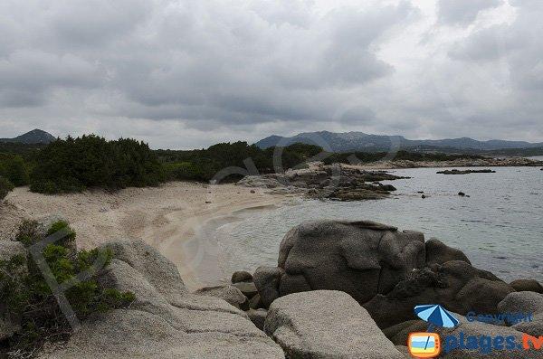 Différentes criques à proximité de la pointe de Ventilegne - côté Bonifacio