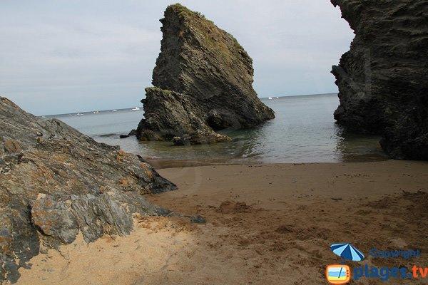 Rocher de la Reine Victoria à Belle Ile en Mer