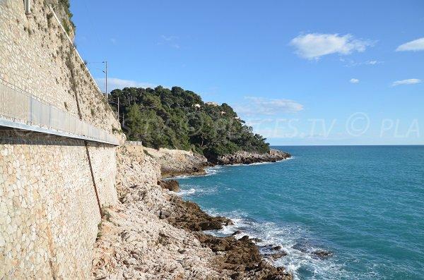 Sentier du Corbusier de Roquebrune Cap Martin