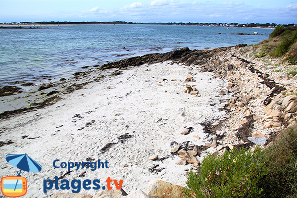 Crique avec du sable - Colomban