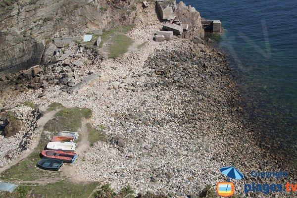 Petit port à proximité du Cap Fréhel