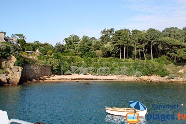 Crique de Port Clos sur l'ile de Bréhat