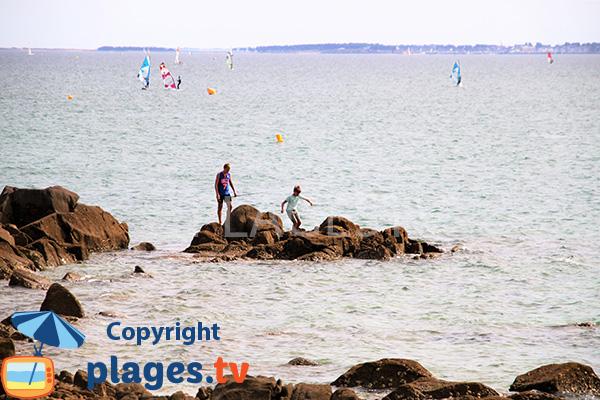 Pêche au niveau de la pointe de St Colomban