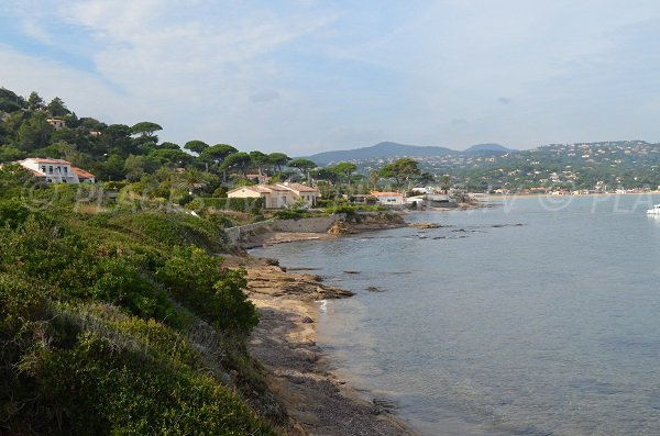 Petites criques de les Sardinaux à Sainte Maxime
