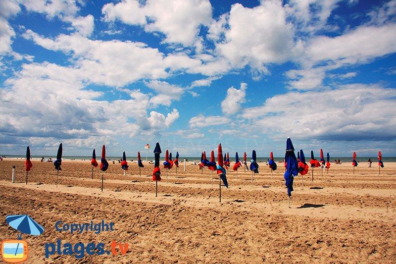 Grande plage de Deauville