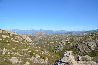 Desert of Agriates in Corsica