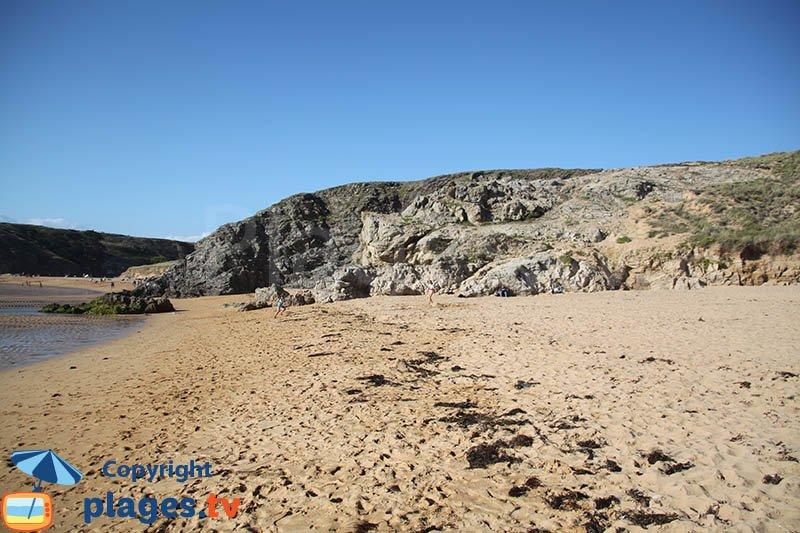 Les plages du Donnant à Belle Ile