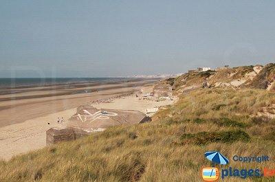 Dunes et plage de Leffrinckoucke