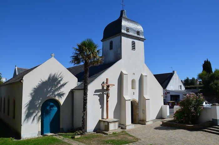 Church in Belle Ile