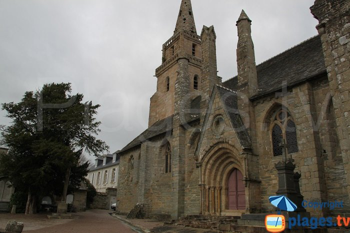 Brélévénez Church in Lannion - France