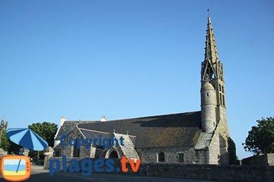 église de St Gorgon à Plovan en Bretagne